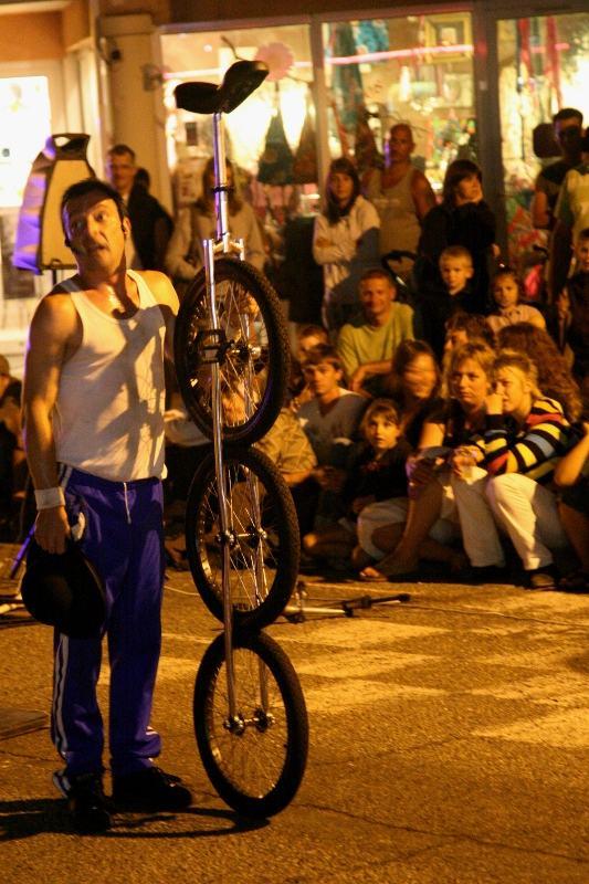 Tricycle à propulsion monocyclique
