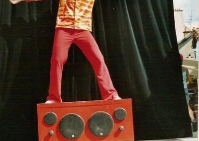 Julio podium